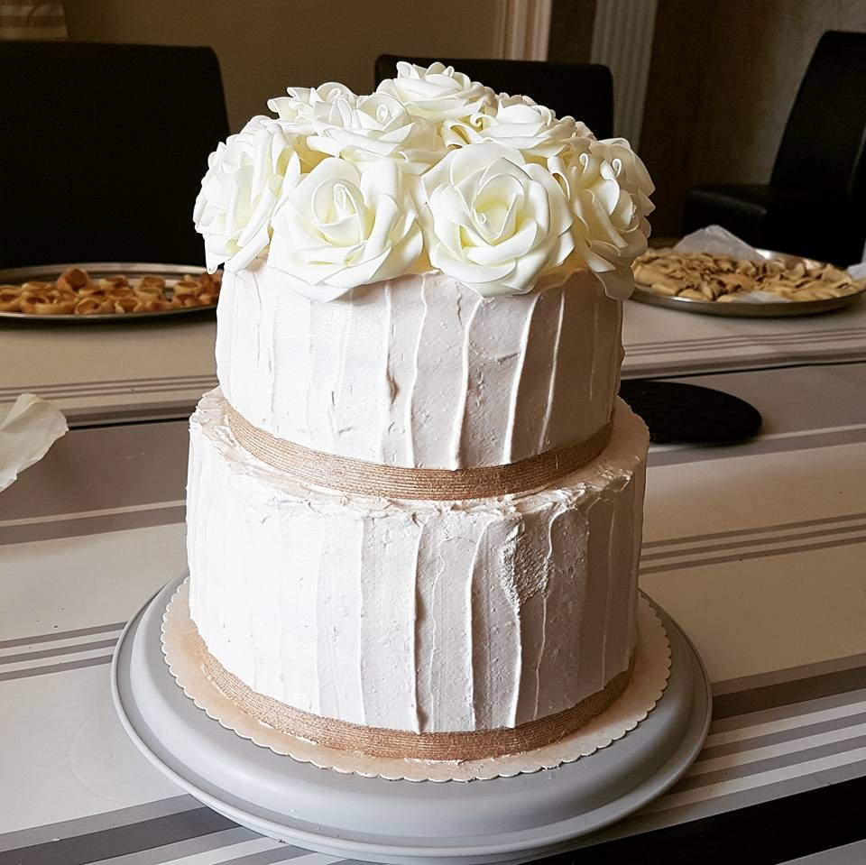Wedding Cake mousse de coco