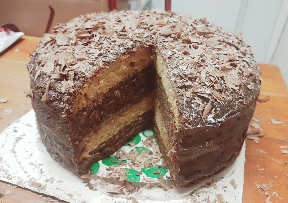 Layer Cake vanille café