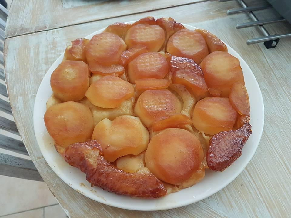 Tarte Vaudable sans gluten (tatin)