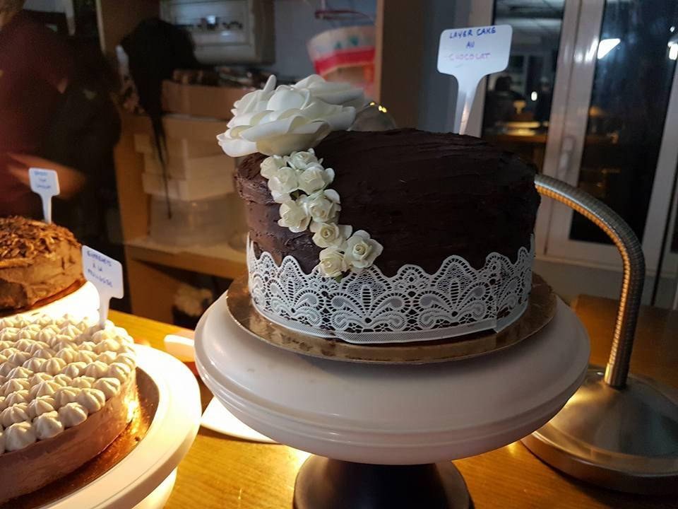 Layer Cake chocolat vanille
