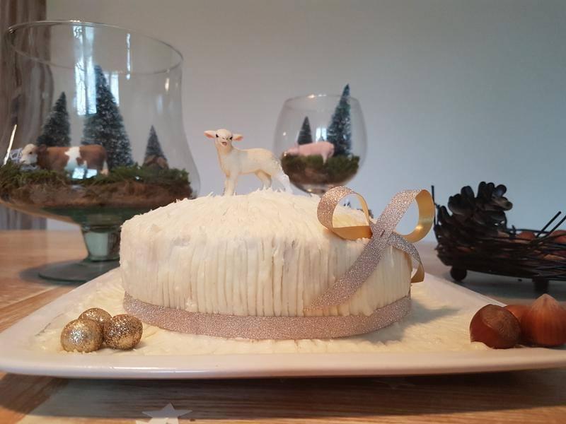 Snow Cake à la noix de coco