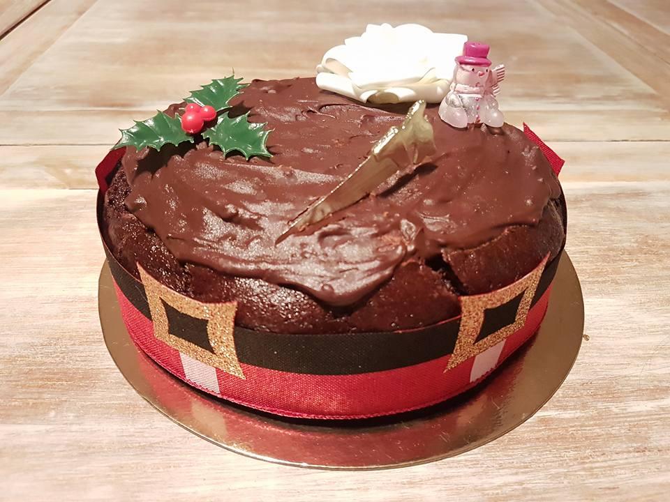 Moelleux au chocolat de Noël