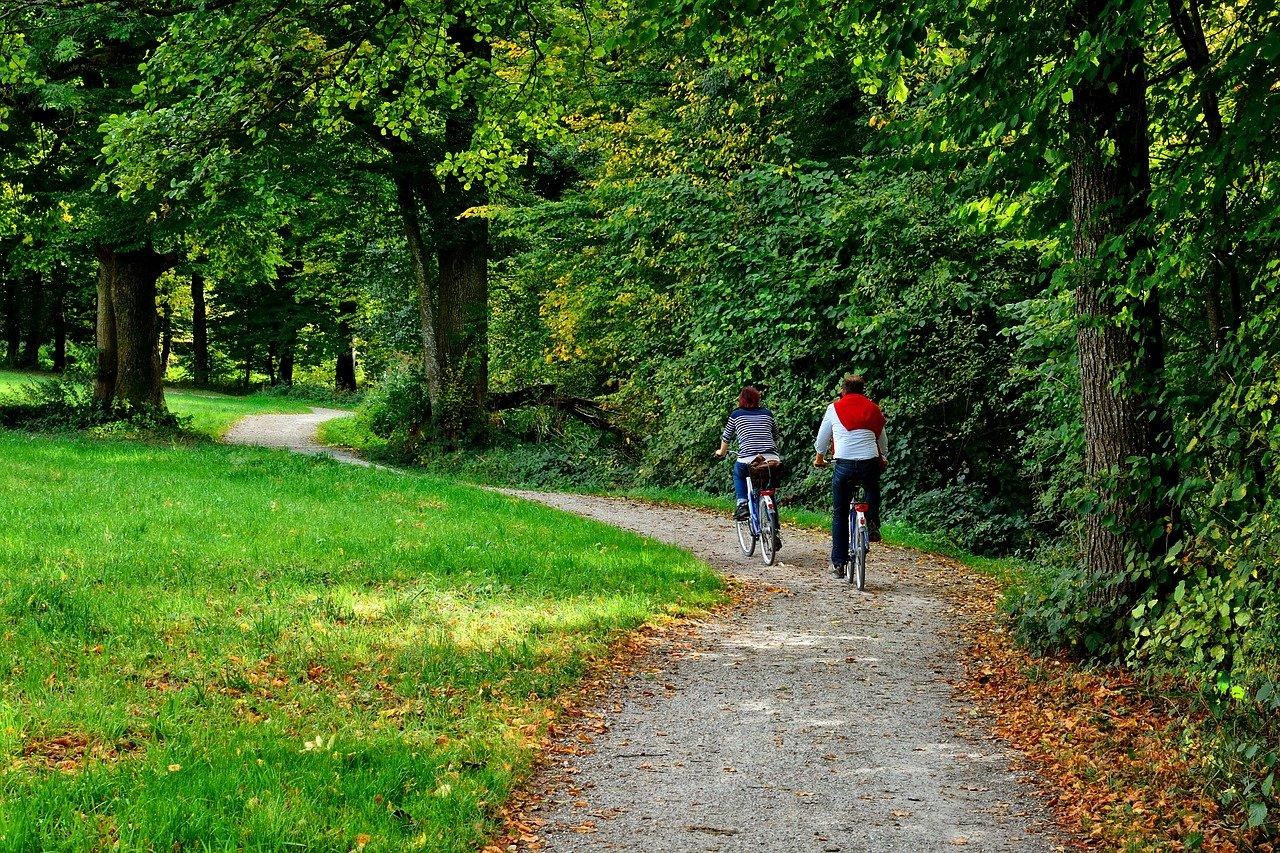 bouger, activité physique, vélo, promenade, santé, bien être