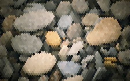 Hexagonal Pixellate