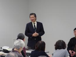 〈理事長あいさつ〉 川嶋毛古先生