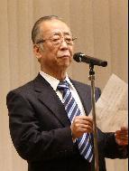 会長 挨拶 坂口天月副会長