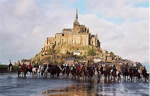 Randonnée au Mont St Michel