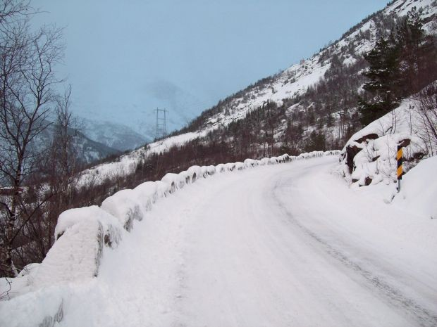 Winter 2009 /2010..auf dem Weg nach Skjeggedal...