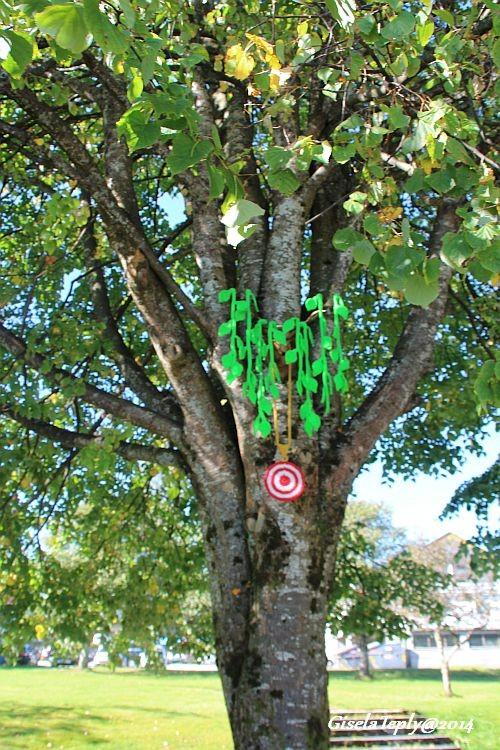 Kunst im Baum im Sommer 2014