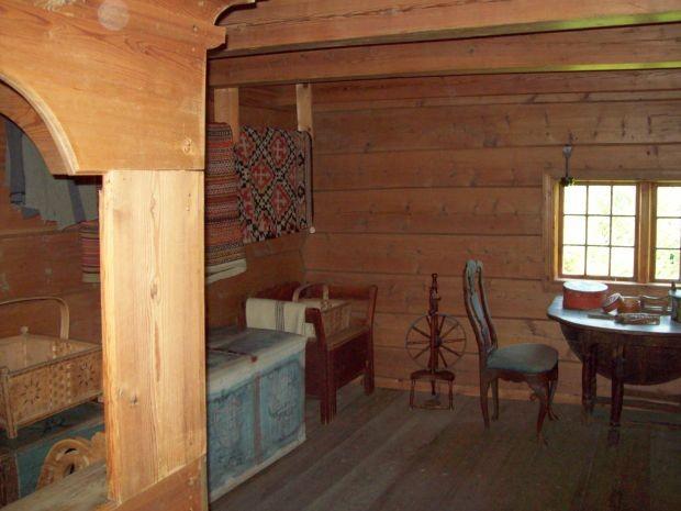 Vorratshaus für Kleidung und Bettzeug  aus dem 18. Jahrhundert..