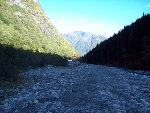 Am Gletscherbach...