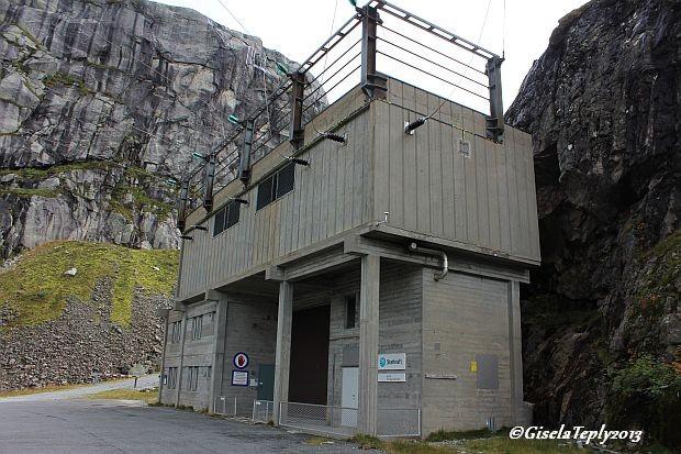 Kraftwerk Jukla, Start und Endpunkt beider Wanderungen...