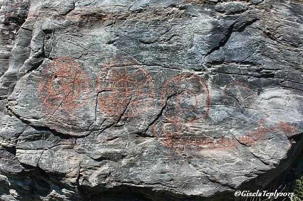 Zeichnungen sind ca. 3000 Jahre alt