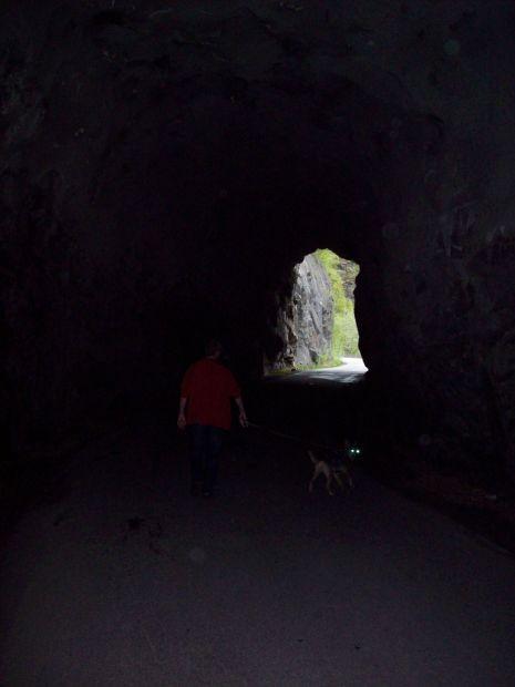 ...er ist der einzige auf dem Weg nach Skjeggedal..