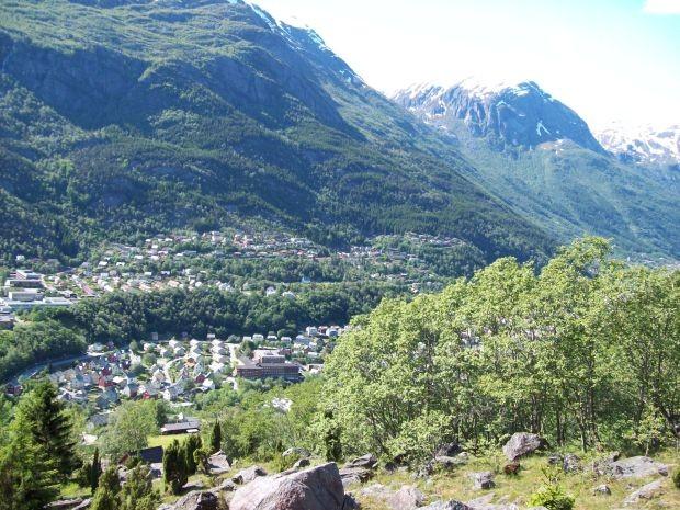 Odda am Sørfjorden