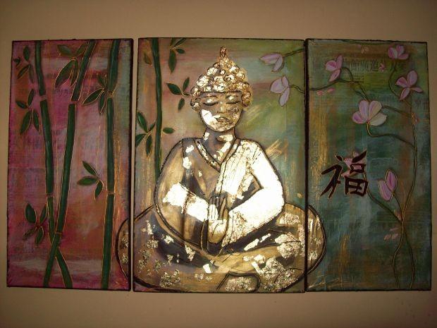 ein grosses Buddhabildnis fuer meinen Sohn
