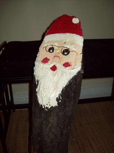 dieser Weihnachtsmann hat Durchblick...