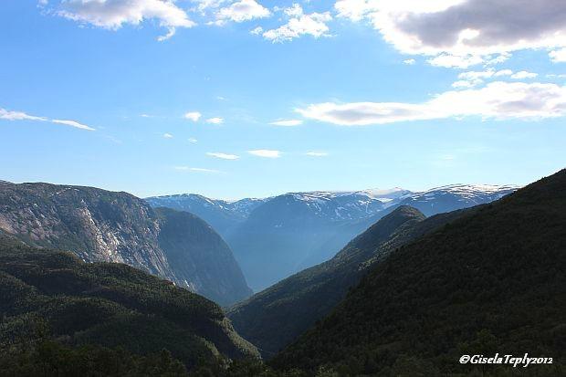 letzter Blick von Måglitopp...nun geht es ab nach Skjeggedal...