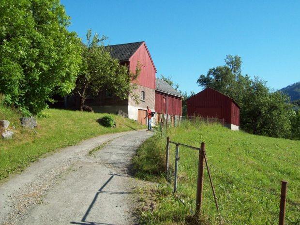 entlang dem Kulturpfad Hjøllo - Mannsåker