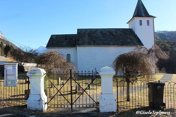 Kirche in Ænes