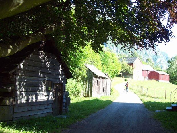 alter Bauernhof in Hjøllo / Odda