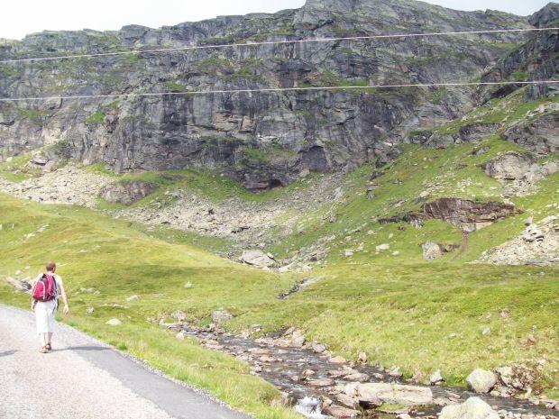 eine fantastische Bergwelt
