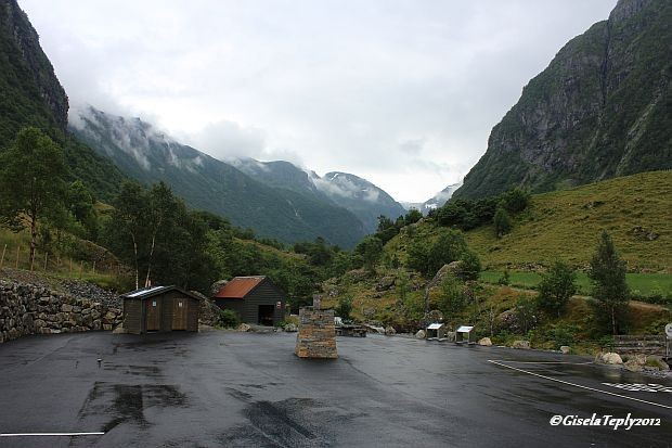 Parkplatz in Bondhusdalen