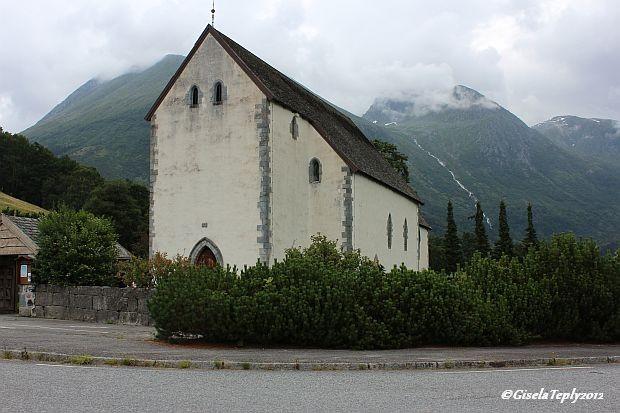 Kvinnherad Kirche in Rosendal von ca. 125o