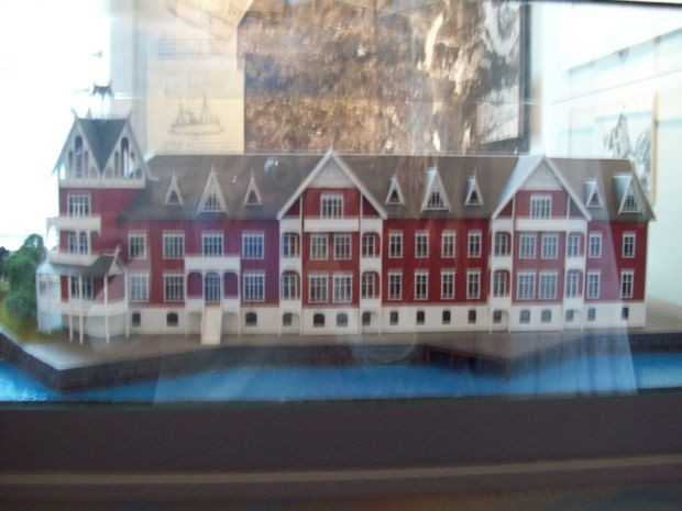 "Model des alten ""Hardanger Hotel"""