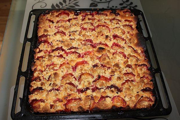 Pflaumenkuchen mit frischen Hardanger Pflaumen