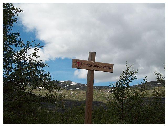 Von hier kann man auf die Hardangervidda starten..z.B. nach Middalsbu