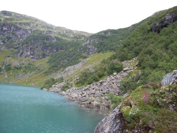 herrliche Landschaft auf 660 Meter Höhe...