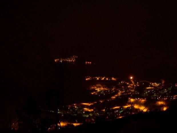 Tyssedal bei Nacht...
