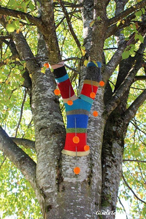 Kunst am Baum im Sommer 2014