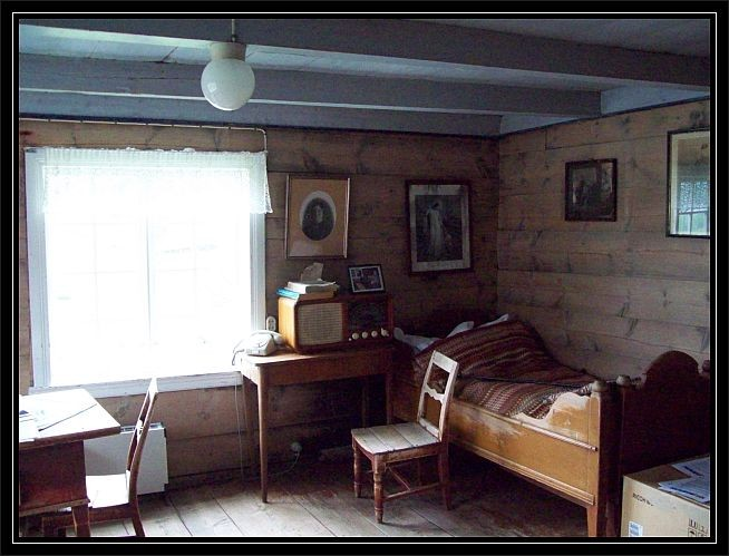 Die alte Wohnstube...