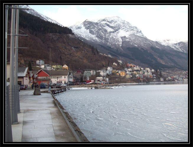 das kommt nicht sehr oft vor das der Fjord anfaengt..