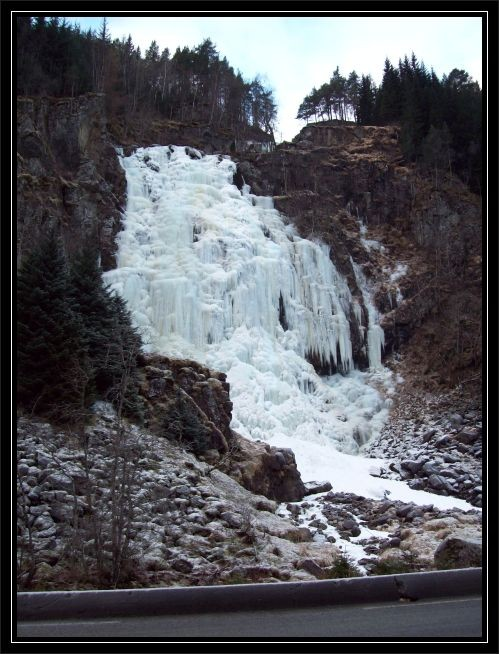 Espelandfossen Anfang Dezember 2010