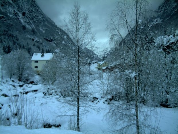 Winter in Buardalen 2009