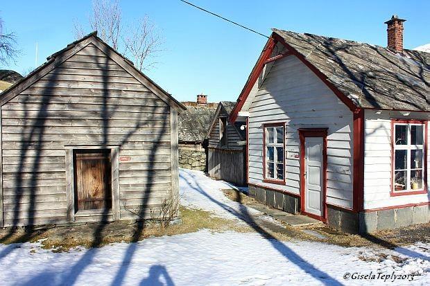 alter Krämerladen auf dem Weg zum Hardanger Folkemuseum