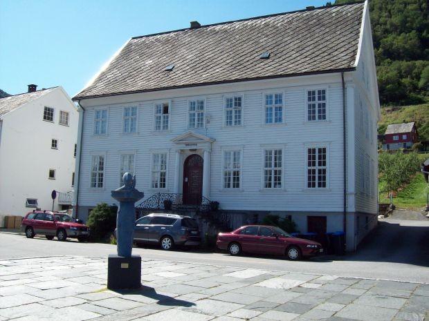 alte Bibliothek in Utne