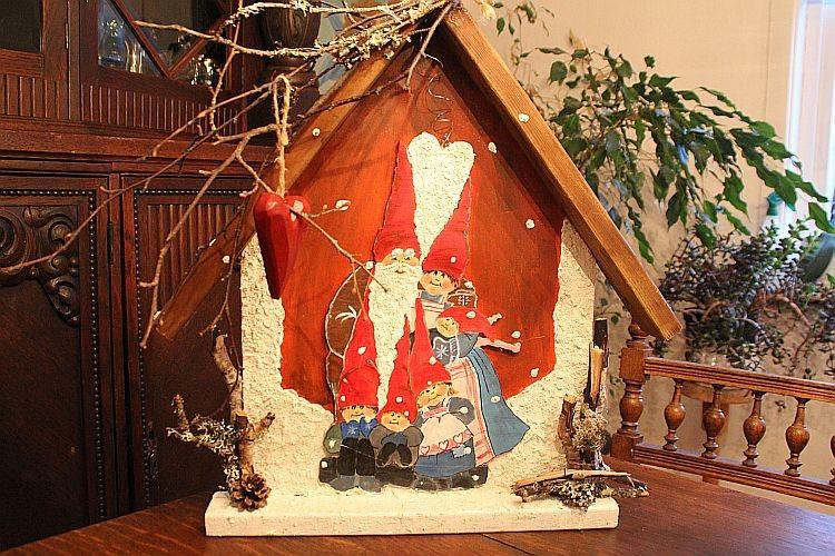 Julenissenhaus.....in 3D