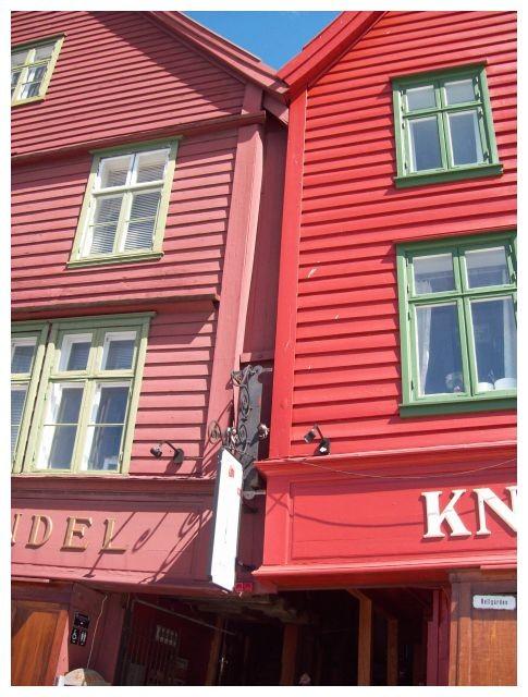 hier in Bryggen..