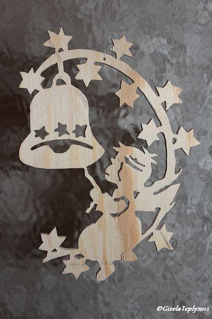 Holzfensterbilder meines Mannes