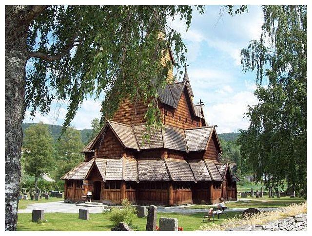 Stabkirche von Heddal...