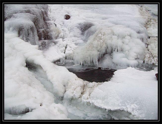 herrlich was starker Frost....