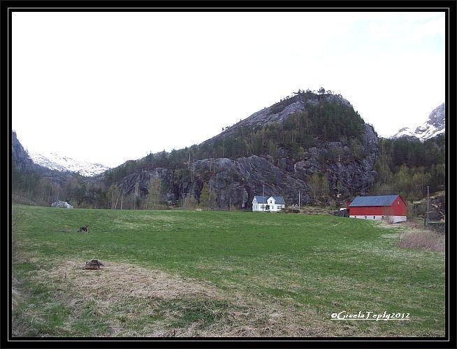 Bauernhof in Skromme / Rullestadjuvet