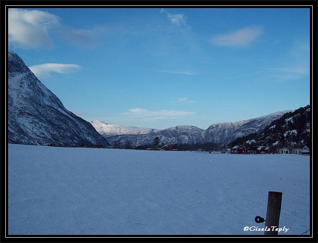 Hæreid ein Plateau oberhalb von Eidfjord