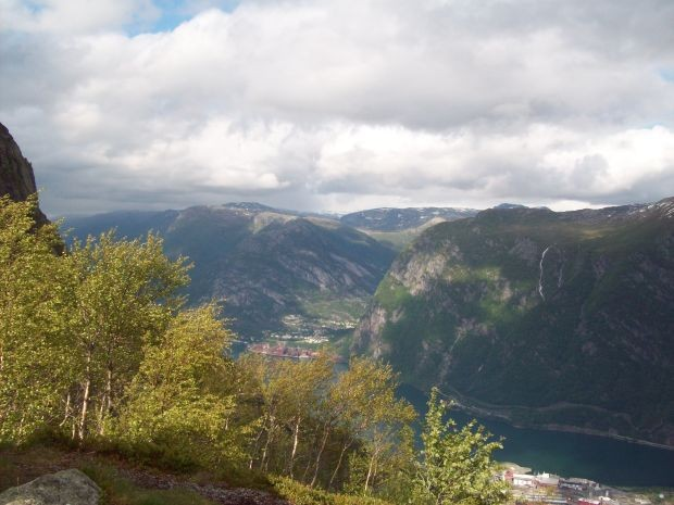 Blick Richtung Hardangervidda