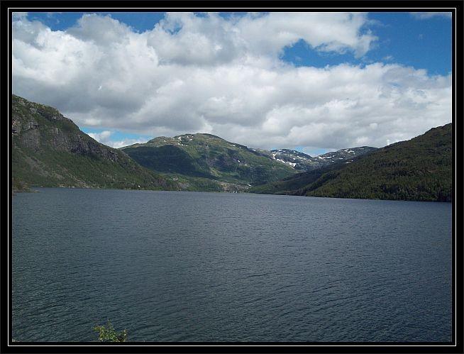 Blick auf den Reinsnosvatnet..Richtung Øyni