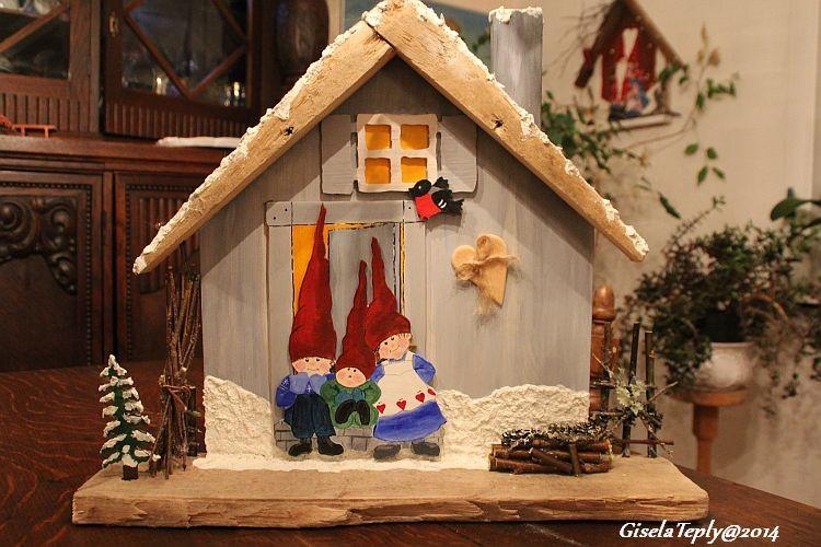 klienes Julenissenhaus...in 3D